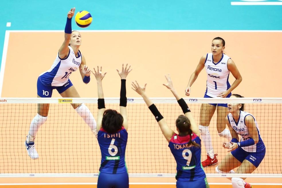 Rio de Janeiro vence time japonês na estreia do Mundial de Clubes (Foto: Re )