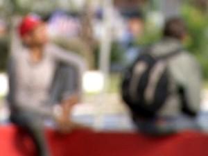 Moradores de rua teriam sido agredidos em Marília (Foto: Reprodução/TV TEM)