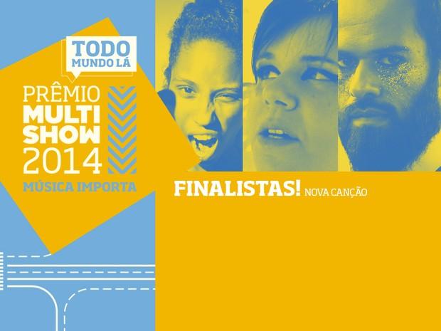 prmio multishow de msica 2014 nova cano finalistas (Foto: Divulgao)