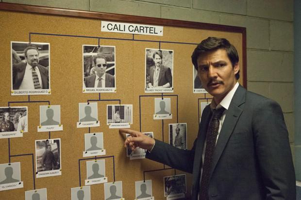Pedro Pascal na terceira temporada de 'Narcos' (Foto: Divulgação)