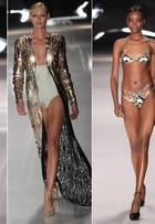 Desfile Adriana Degreas teve participação da top model Shirley Mallmann no SPFW