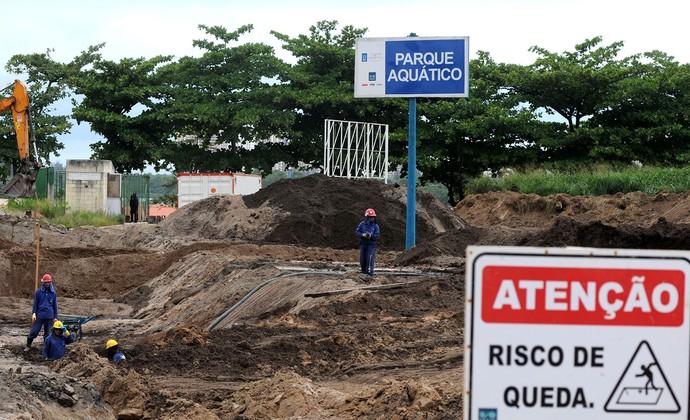 Parque Olímpico obras Rio 2016  (Foto: André Durão / Globoesporte.com)