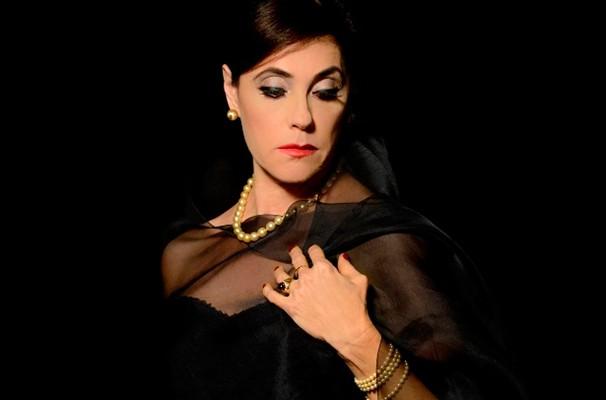 Christiane Torloni como Callas: espetáculo faz temporada no Teatro das Artes de SP (Foto: Divulgação)