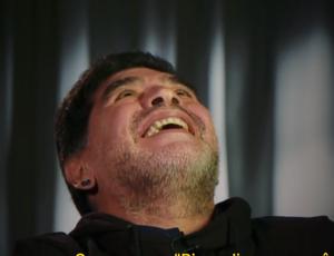 Maradona, entrevista ao site Fifa (Foto: Reprodução SporTV)