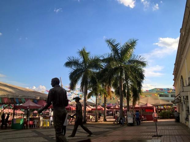 Não há previsão de chuvas durante o final de semana no Acre (Foto: Paulo Roberto Parente/Arquivo Pessoal)