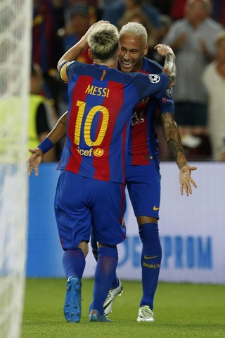 Barcelona Neymar Messi (Foto: Reuters)