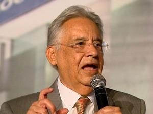 FHC falou sobre condenações do mensal em Ribeirão Preto (Foto: Claudio Oliveira/EPTV)