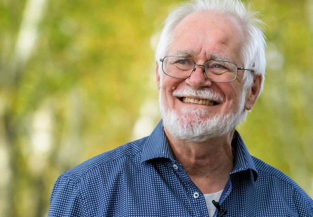 Um dos vencedores do Prêmio Nobel de Química, Jacques Dubochet (Foto: Reprodução/Facebook)