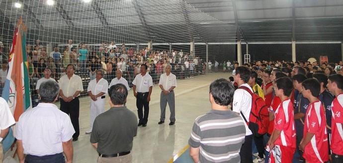Cerimônia de abertura do Intercolonial do ano passado (Foto: Divulgação)