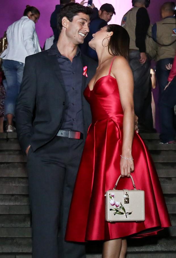 Isis Valverde e o namorado, André Resende (Foto: Roberto Filho/Brazil News)