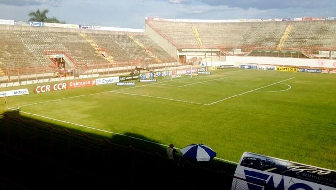 Estádio romildão mogi mirim e Corinthians (Foto: Diego Ribeiro)