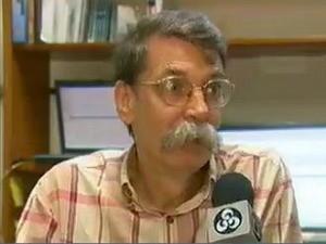 Philip Fearnside  (Foto: Reprodução/Rede Amazônica)