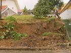 Chuva causa estragos e deixa desalojados em Poços de Caldas, MG