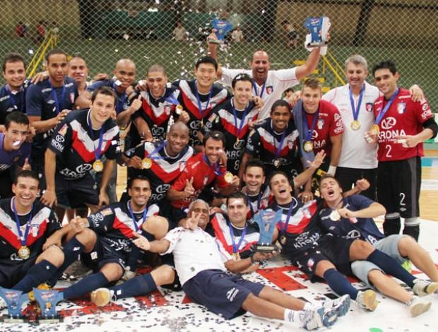 Joinville conquista a Copa Cataratas de Futsal (Foto: Manolo Quiróz/Divulgação)