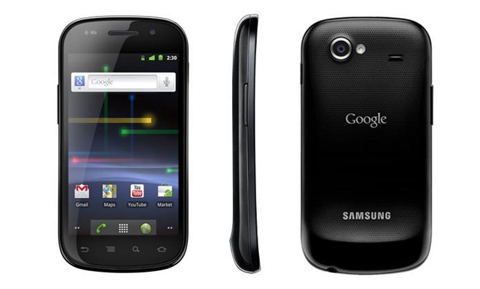 Nexus S, fabricado pela Samsung, lançado em dezembro de 2010 com Android 2.3 Gingerbread (Foto: Divulgação)