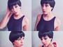 Sophia Abrahão confunde fãs ao postar fotos com visual moreno