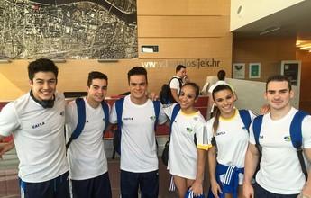 Zanetti e Jade lideram classificatórias, e Brasil vai a quatro finais em Osijek