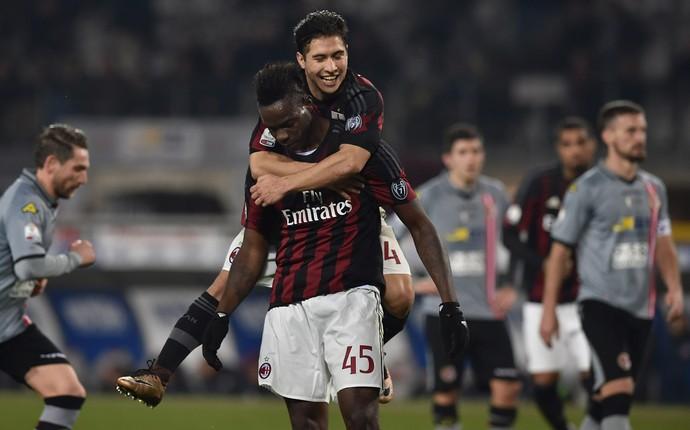 Milan Alessandria Mario Balotelli (Foto: Valerio Pennicino / Stringer)