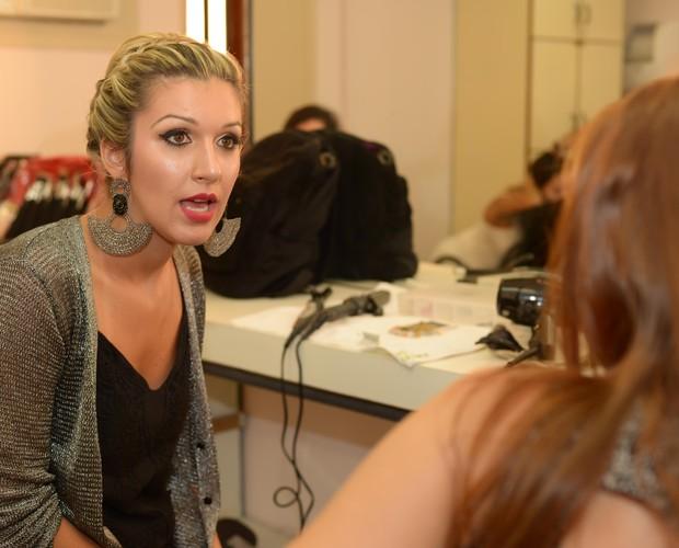 Poly bbb (Foto: Camila Serejo/ Tv Globo)