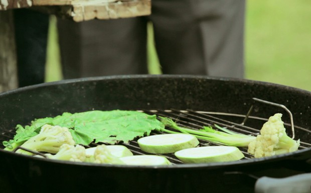 Vegetais grelhados ao molho chimichurri (Foto: Divulgao/GNT)