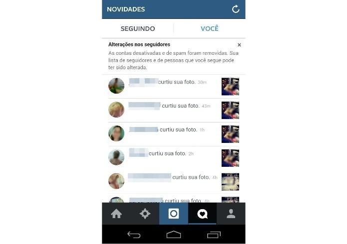 Instagram envia alerta sobre remoção de contas devido a spams (Foto: Reprodução/Melissa Cruz) (Foto: Instagram envia alerta sobre remoção de contas devido a spams (Foto: Reprodução/Melissa Cruz))