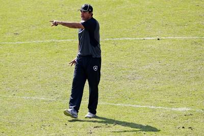Ricardo Gomes Botafogo (Foto: Vitor Silva/SSPress/Botafogo.)