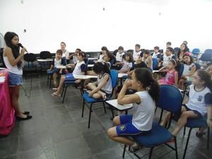 Palestras são para crianças e adultos (Foto: Ana Cristina/Arquivo pessoal)