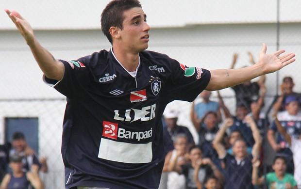 Thiago Galhardo marcou o único gol da partida.  (Foto: Antônio Cícero/Colaborativo)