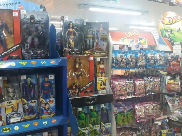 fiscalização, loja de brinquedos, ipem, dia das crianças, Macapá, Amapá (Foto: Jéssica Alves/G1)