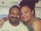 Arlindo Cruz anuncia alta hospitalar após infecção urinária e artrite