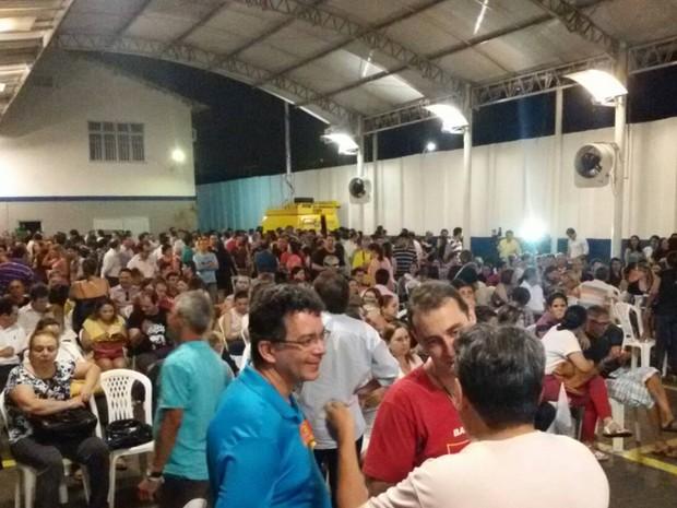 Assembleia dos bancários no Ceará (Foto: Divulgação)