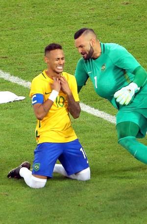 Neymar Brasil X Alemanha Final (Foto: Agência Reuters)