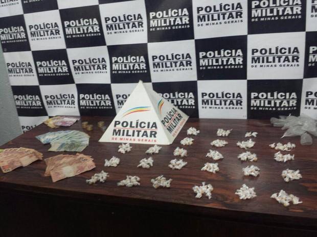 Drogas Divinópolis (Foto: Policia Militar/ Divulgação)