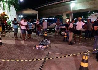 Ba-Vi; torcedor; morto (Foto: Eduardo Oliveira/TV Bahia)