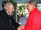 Lula homenageia Chávez em Cuba