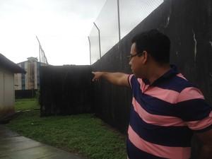 Netanis Ferreira, diretor do Cesein (Foto: Dyepeson Martins/G1)