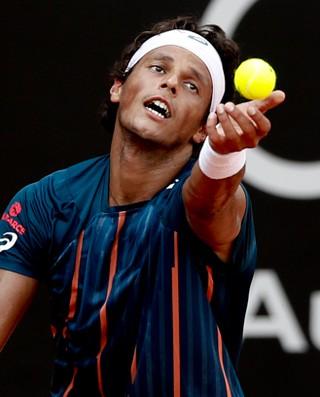 João Souza Feijão tenista (Foto: Divulgação/Brasil Open)