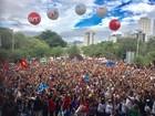 Educadores da rede estadual seguem em greve em Uberlândia e Uberaba