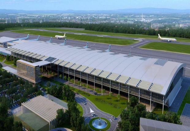Yangon International Airport em Miyanmar (Foto: Wikimedia Commons/Wikipedia)