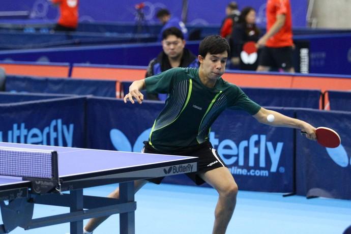 Siddharta estará no Mundial de Tênis de Mesa, em novembro, na África do Sul (Foto: Divulgação/Arquivo Pessoal)