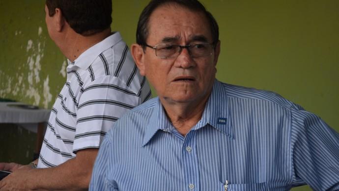 Coronel Nunes, presidente da Federação Paraense de Futebol (Foto: Gustavo Campos/GloboEsporte.com)