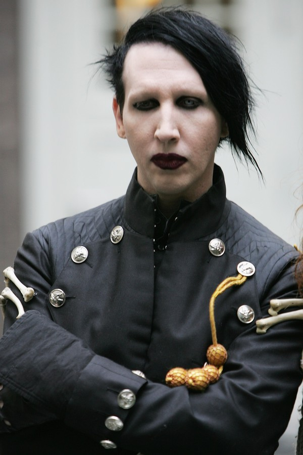 O cantor Marilyn Manson (Foto: Getty Images)