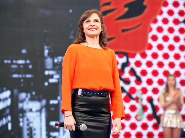Sucesso como Cora, em Império, Drica Moraes está no Arquivo Confidencial (Foto: Raphael Dias/TV Globo)