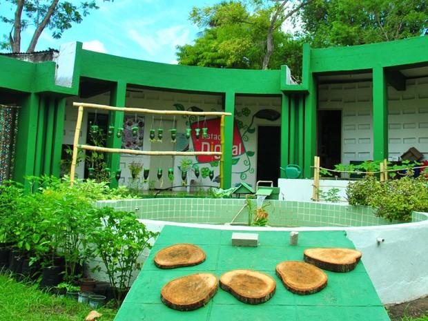 Cepam oferece diversas oficinas para levar práticas ambientais sustentáveis na Paraíba (Foto: Divulgação/Secom-JP)