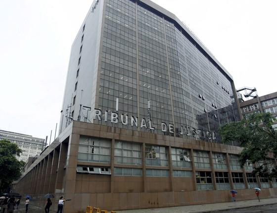 Tribunal de Justiça do Rio de Janeiro (Foto: Marcelo Piu/Agência O Globo)