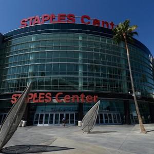 Staples Center, em Los Angeles, é uma das arenas operadas pela AEG (Foto: Getty Images)