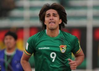 Marcelo Moreno Bolívia x Paraguai (Foto: EFE)