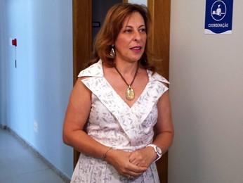 Júnia Mourão Cioffi, presidente da Fundação Hemominas (Foto: Pedro Triginelli/G1)