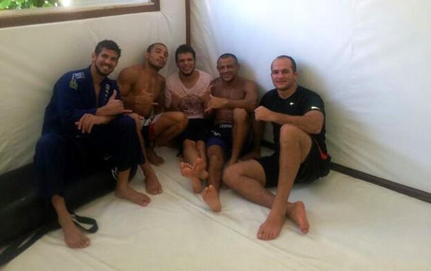 Cigano treina na Nova União (Foto: Ana Hissa)