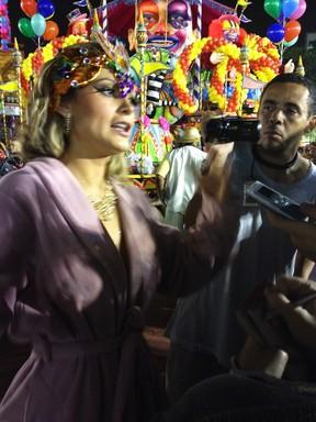 Andressa Urach em SP (Foto: EGO)